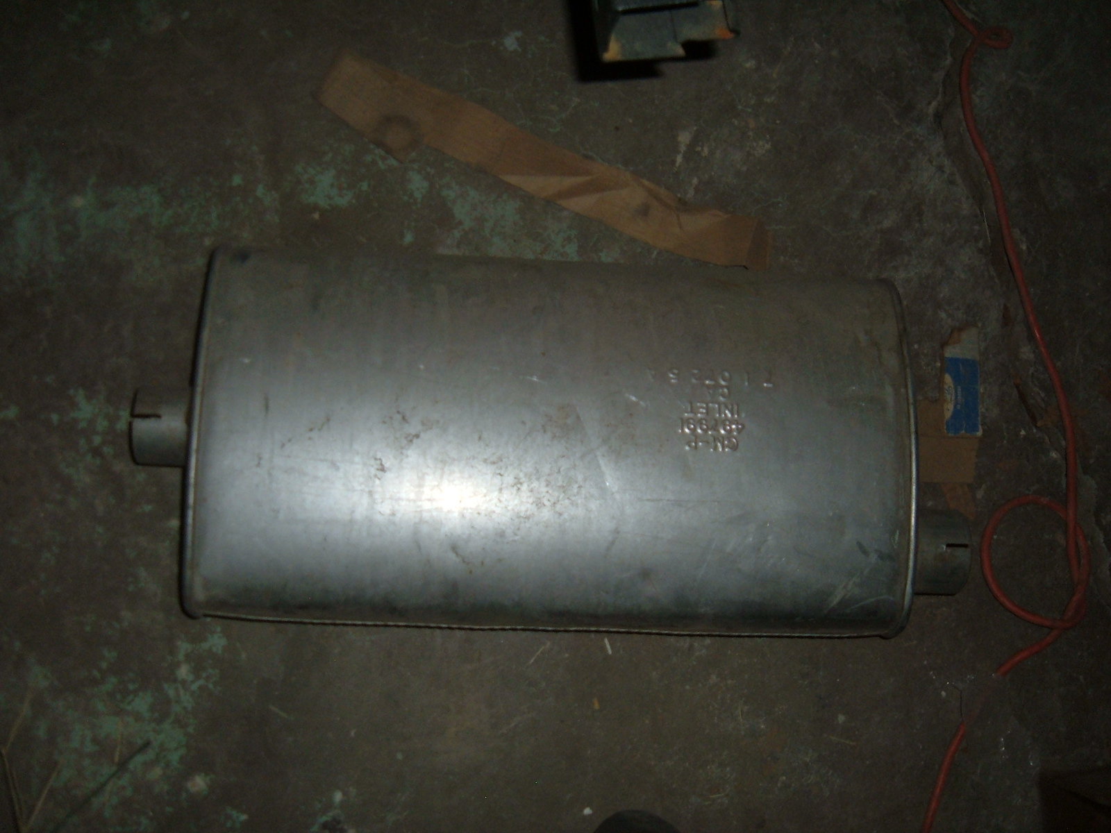 1975 oldsmobile 88 98 exhaust muffler nos gm 497991 (z 497991)