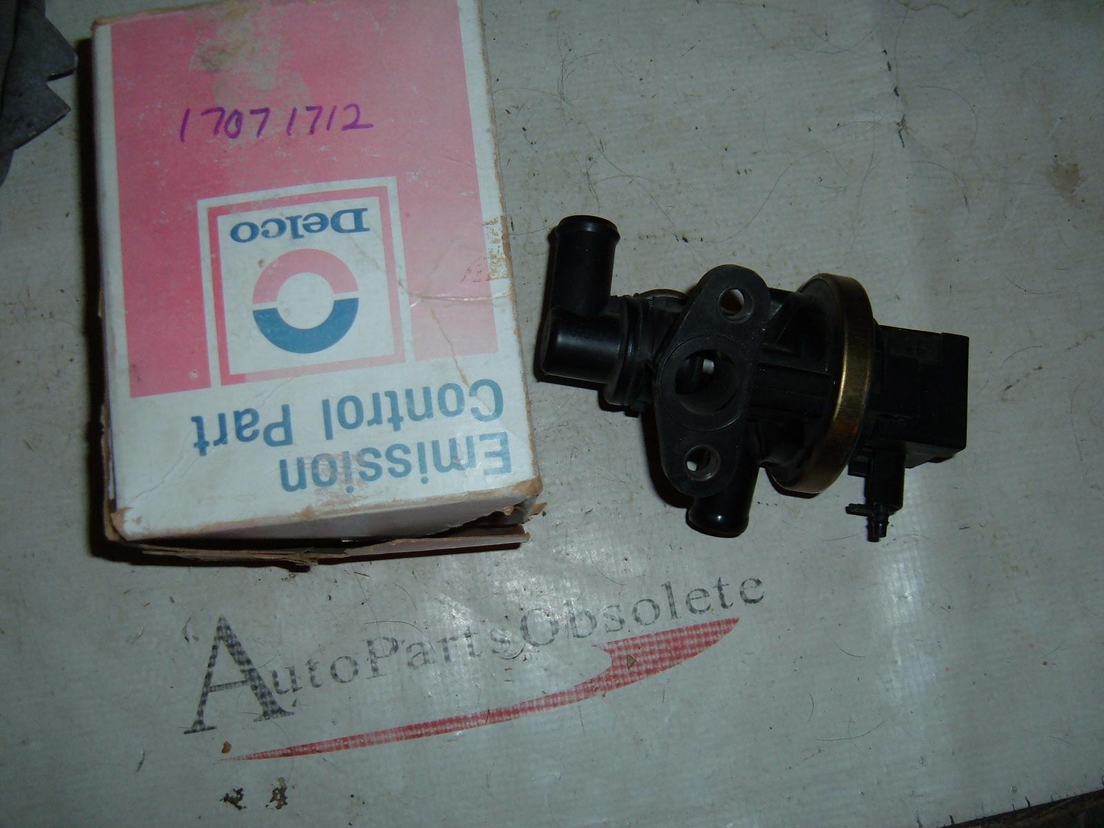 1981 82 83 pontiac buick oldsmobile cadillac diverter valve nos gm 17071712 (z 17071712)