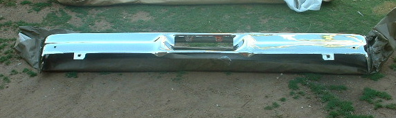 View Product1965 1966 ford galaxie rechromed rear bumper (z 65-6 ford rear bumper )