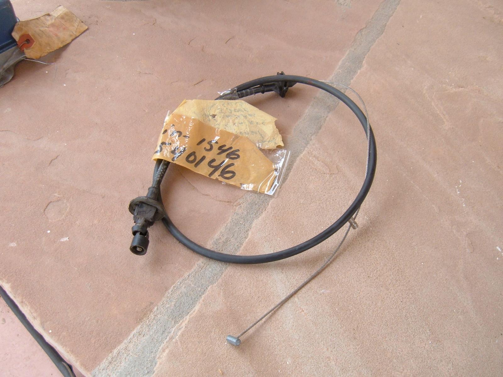 1988 89 90 91 buick pontiac oldsmobile accelerator cable nos gm # 22540146 (z 22540146)
