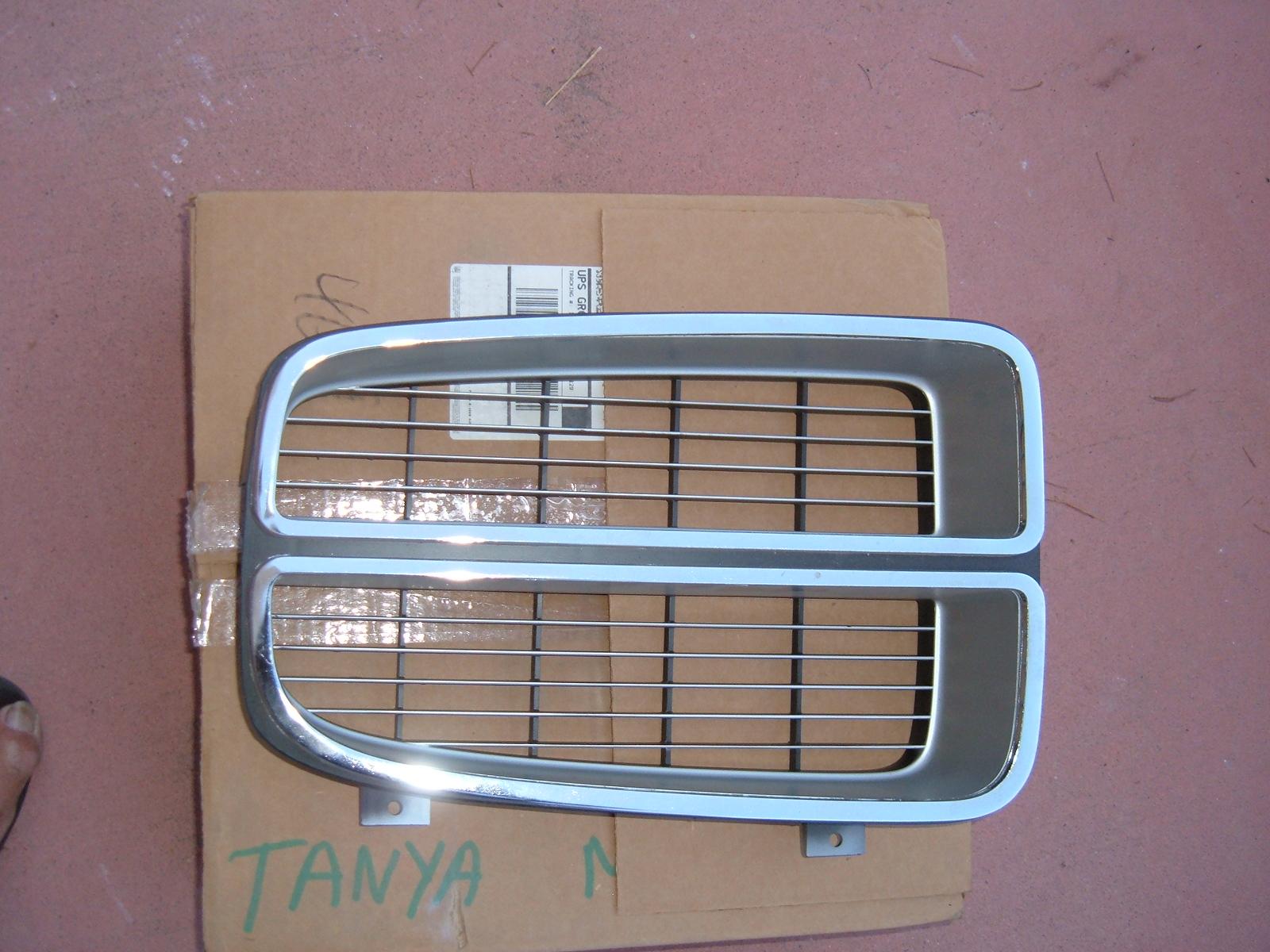 1972 pontiac lemans grille assembly nos gm 486989 (z 486989)