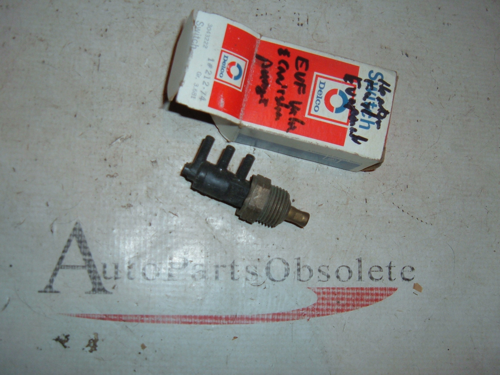 View Product1980 cadillac ported vacuum switch heater switch nos gm 3043222 (z 3043222)