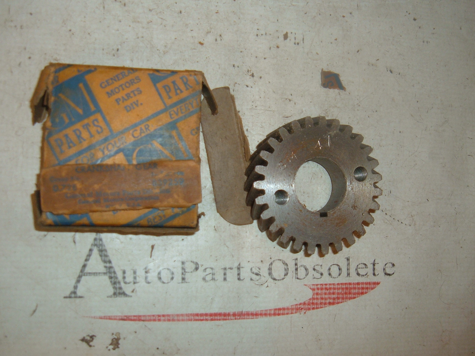 1940 42 46 48 50 52 54 56 58 60 chevrolet crankshaft gear nos gm 3835371 (z