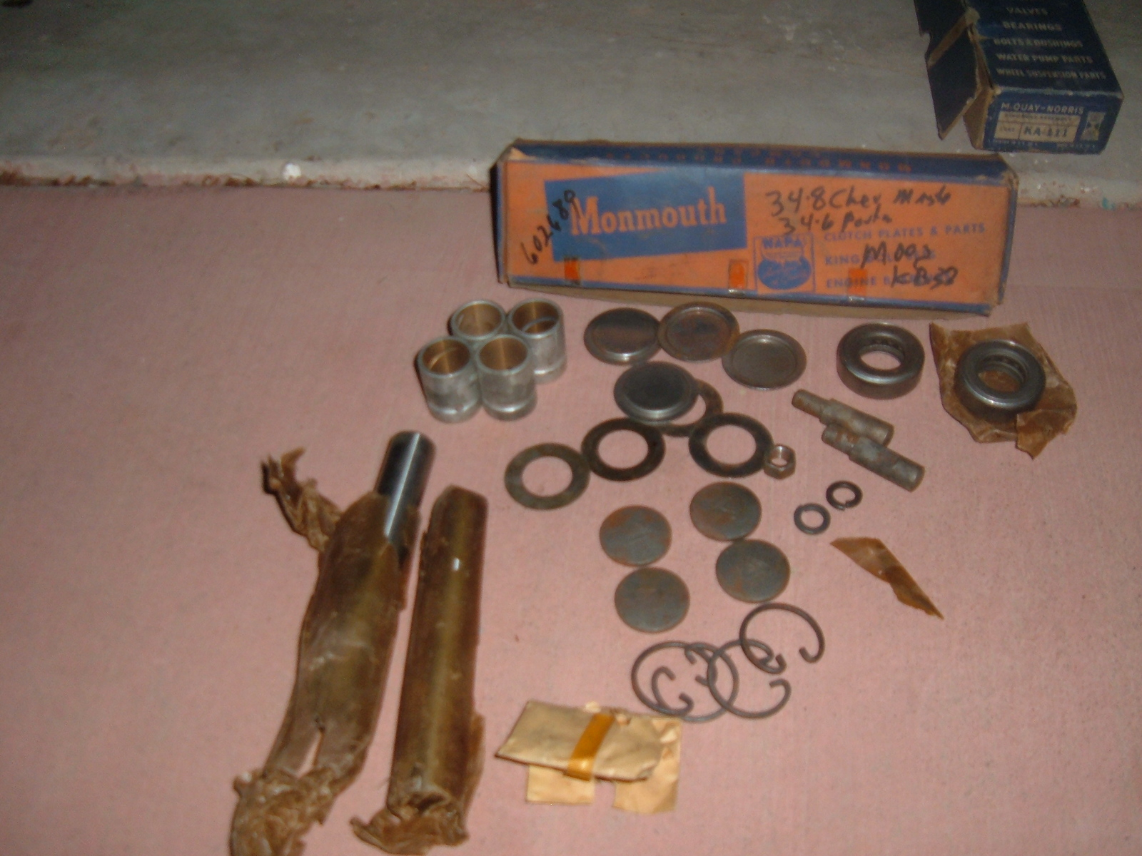 1934 35 36 37 38 chevrolet pontiac king bolt set 602689