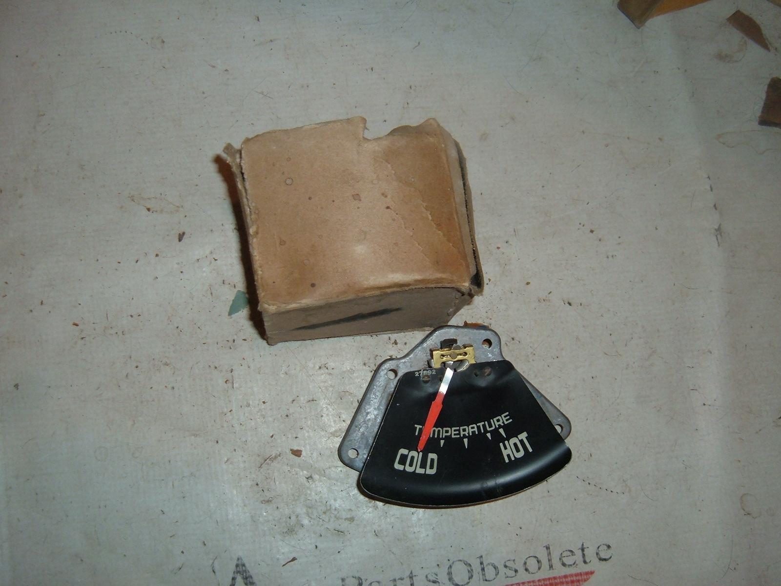 1957 1958 chrysler imperial temperature gauge nos mopar # 1753593 (z 1753593)