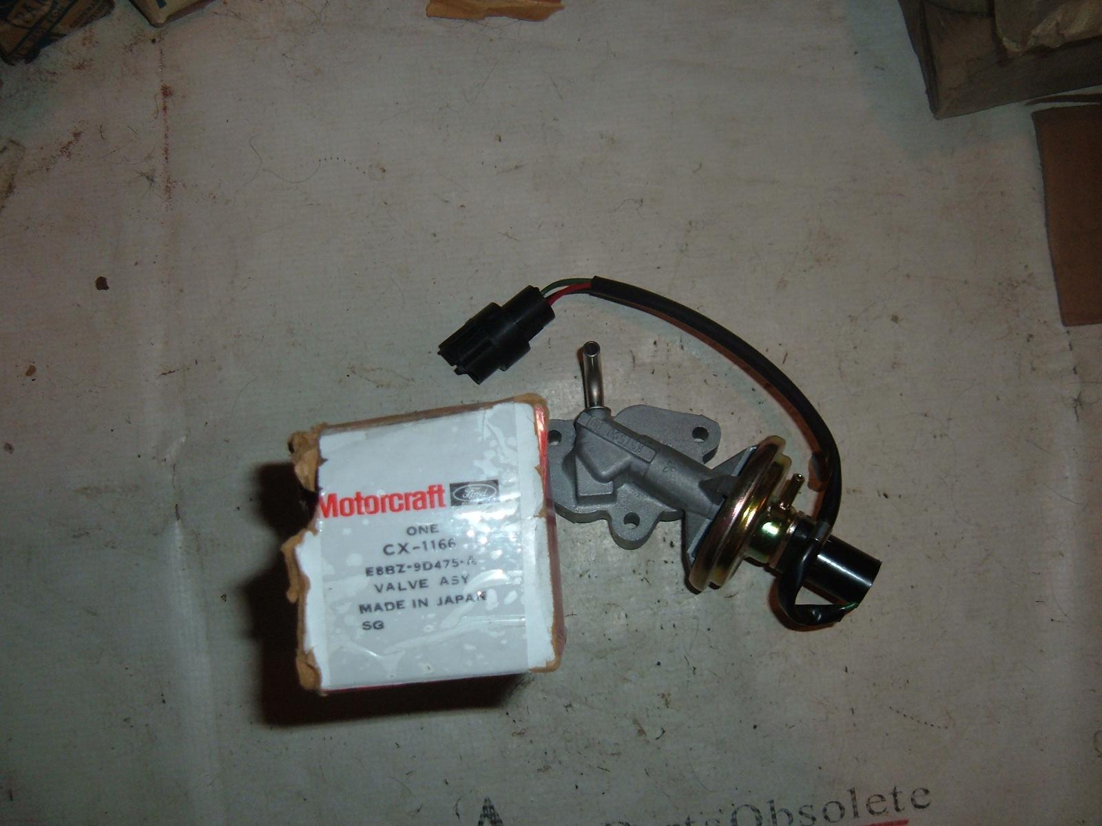 1992 ford probe EGR valve emissions nos ford E8BZ-9D475-A (z e8bz9d475a)