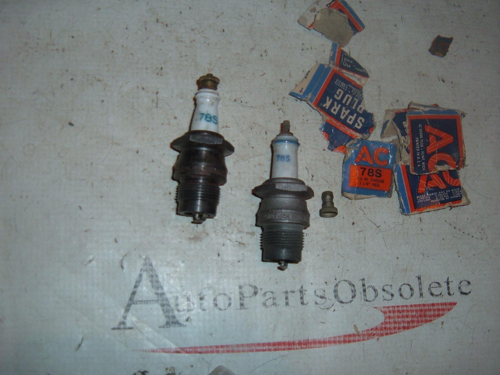 78s 78-s delco spark plug vintage nos delco (z 78s)