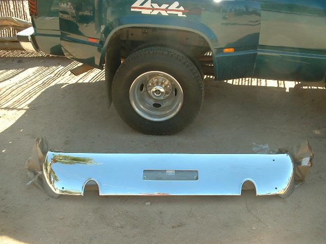 1966 67 oldsmobile toronado rechromed bumper rear (z 66-7 oldstoro bumper)