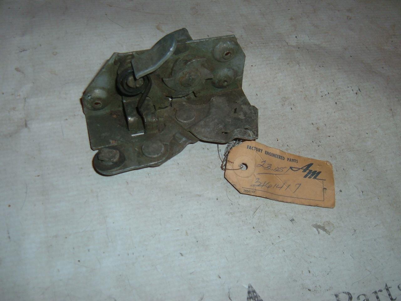 View Product1962 rambler door lock latch nos rambler 3161417 (z 3161417)