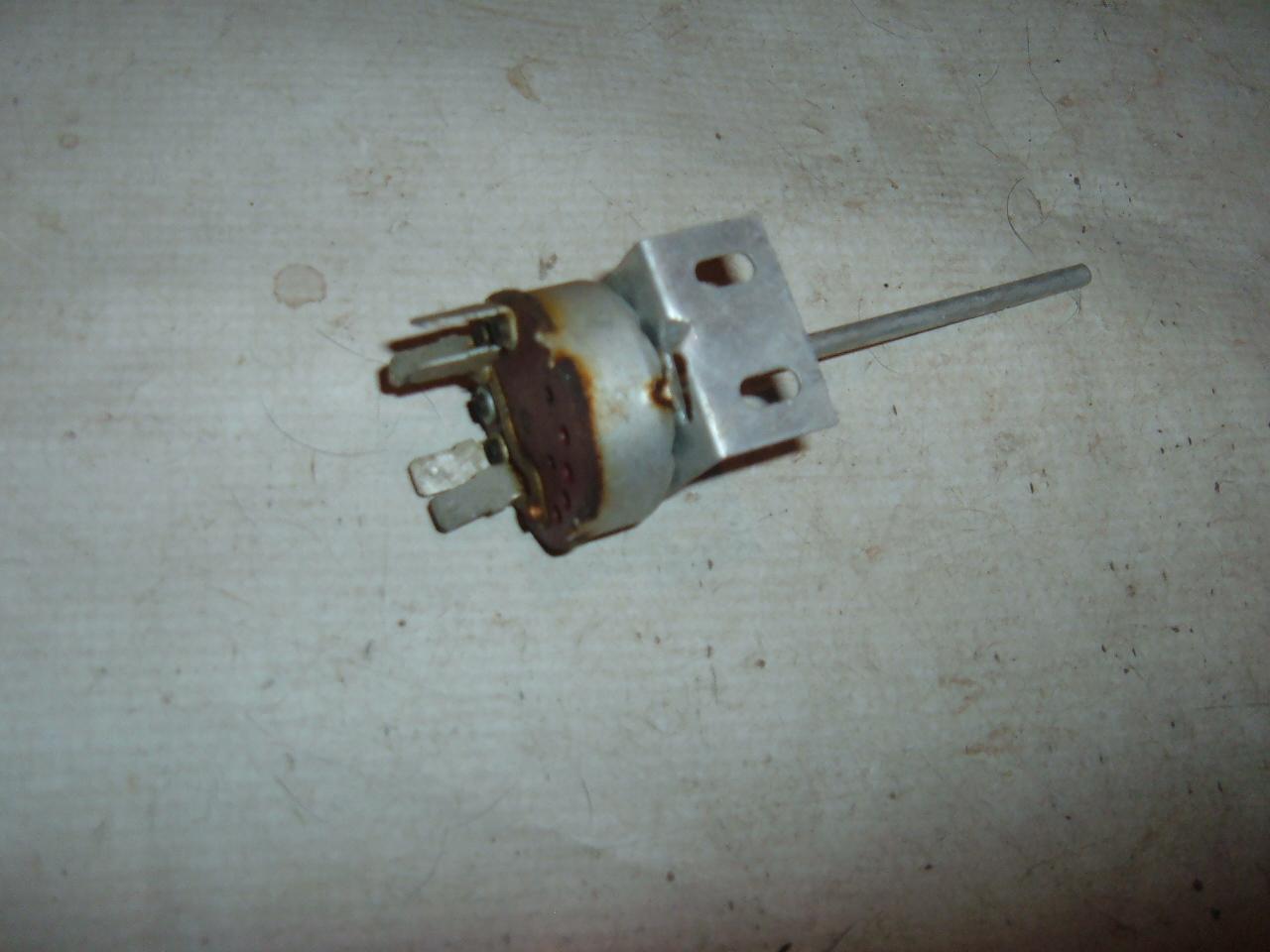 1963 rambler classic airconditioning heater blower switch nos rambler 3482522 (z 3482522)
