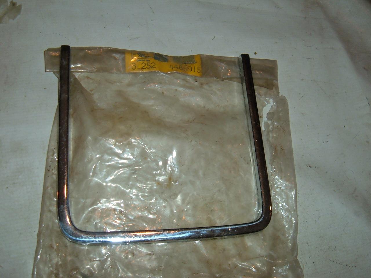 1969 rambler rebel grille molding nos amc # 4485915 (z 4485915)