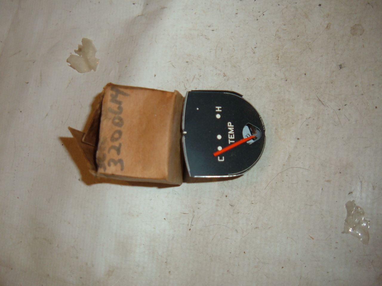 1958 ambassador rambler temperature gauge dash unit nos # 3200614 (z 3200614)