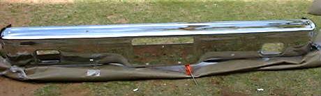 1964 ford fairlane rechromed front bumper (z 64 ford fairlane frt bumper )