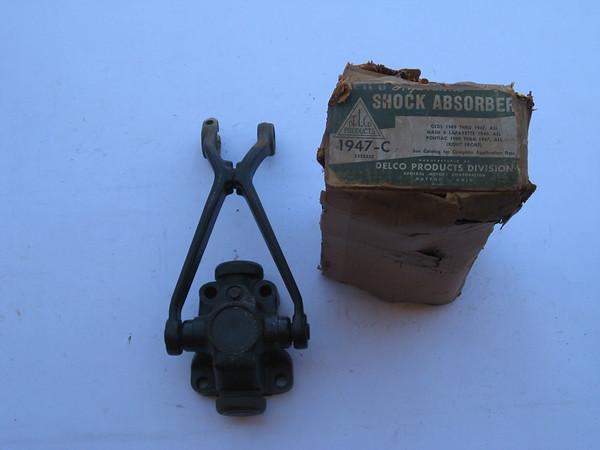 1939 1940 1941 1942 1946 1947 Oldsmobile Pontiac Nash NOS front RH shock absorber # 5352332