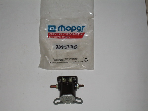 1960 1961 1962 1963 Dodge dart Plymouth valiant NOS starter solenoid switch # 2095330 (zd 2095330)