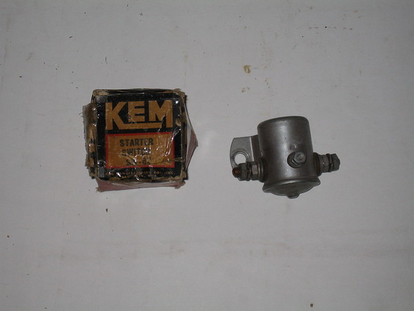 1936 thru 1954 Ford Lincoln Nercury studebaker new starter solenoid switch # 21-a-114501 (zd sw82)