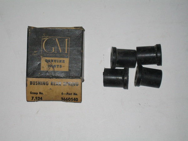 40 42 46 48 50 52 54 chevrolet spring shackle bushings # 3660540 (zd 3660540)