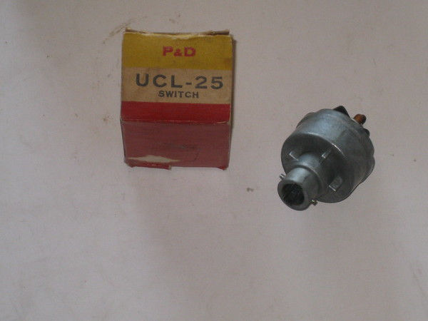 1953 thru 1962 Willys new ignition switch #ucl25 (zd ucl25)