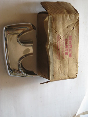 1951 1952 Chrysler Imperial NOS front RH bumper guard # 1324638 (zd 1324638)