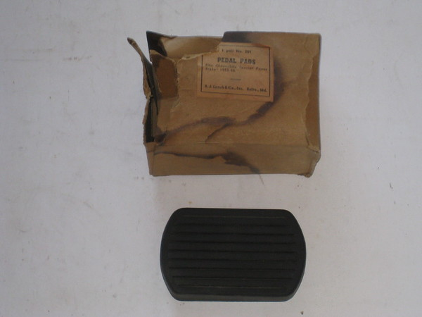 1953 1954 1955 Oldsmobile new replacement rubber pedal pad # pp201