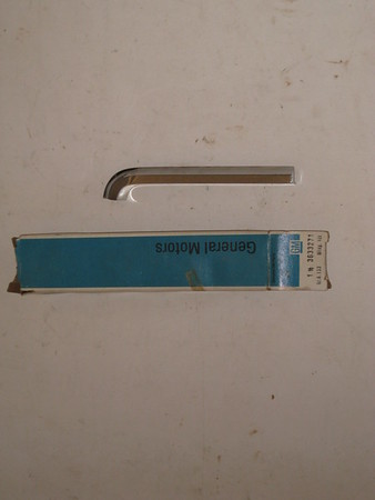 1969 Cadillac NOS LH front fender to extension molding # 3633271 (zd 3633271)
