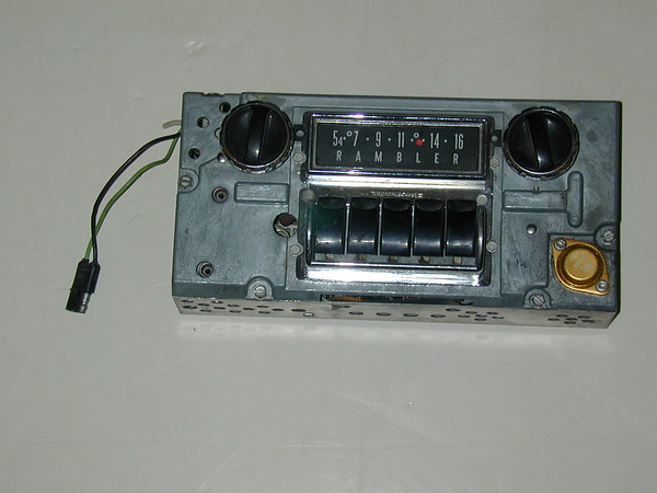 1963 1964 Rambler used AM radio (zd 3tmr 114375)