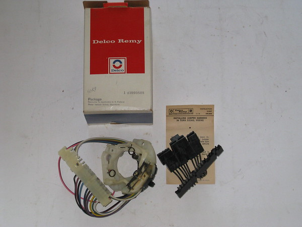 1969 thru 1977 Cadillac Chevrolet Buick Oldsmobile Pontiac NOS turn signal switch # 1893588
