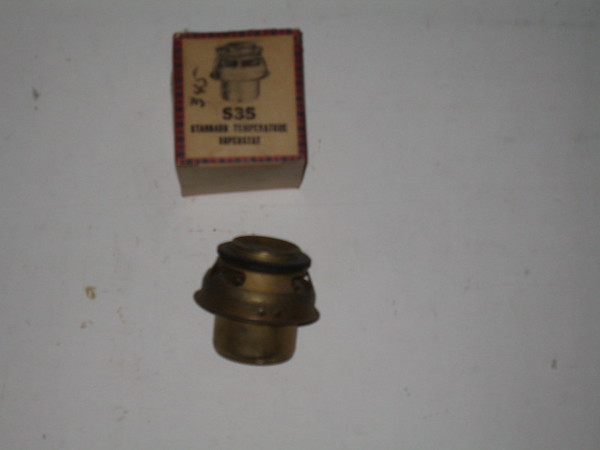 1948 thru 1957 Lincoln Ford truck V8 new replacement thermostat # s35 (zd s35)