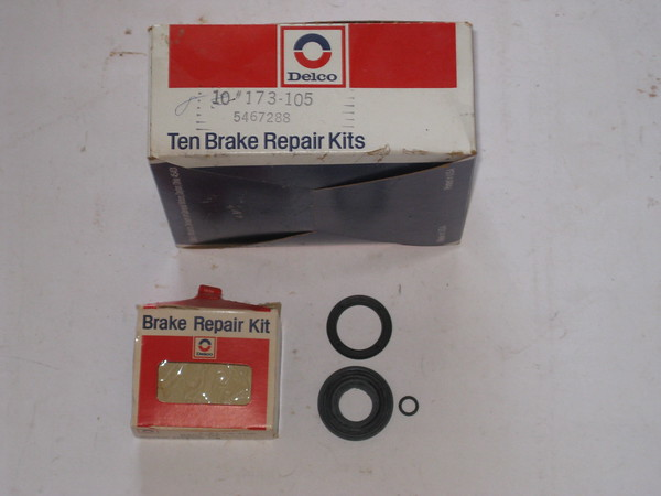 1965 thru 1982 Chevrolet Corvette NOS rear disc brake rubber repair kit # 5467288 (zd 5467288)