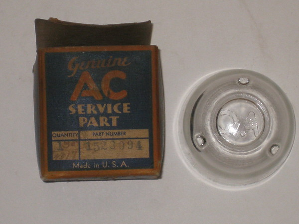 1937 thru 1962 Chevrolet & Corvette NOS fuel filter bowl # 1523094 (zd 1523094)