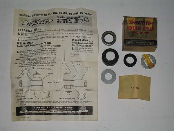1939 thru 1964 Mopar GM packard hudson nash new idler arm kit # pk305 (zd pk305)1939 thru 1964 Mopar GM packard hudson n