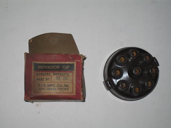 1924 1925 1926 1927 1928 Packard Dupont Biederman Meteor New Distributor cap # re88 (zd re 88)