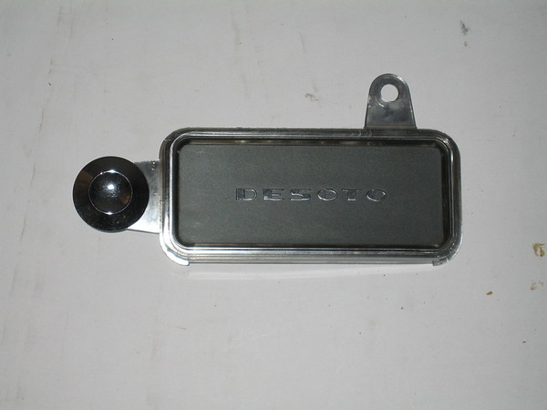 1954 Desoto used radio delete plate # 54drdp (zd 54drdp)