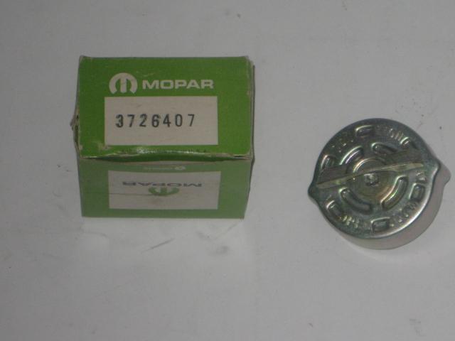 1974 Mopar B body NOS gas cap mopar # 3726407 (zd 3726407)