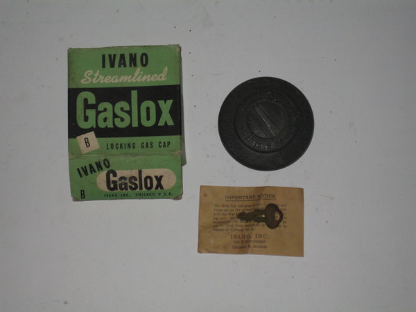 1932 thru 1942 New locking gas cap #bgc for ford Lincoln Mercury Packard & more (zd bgc)