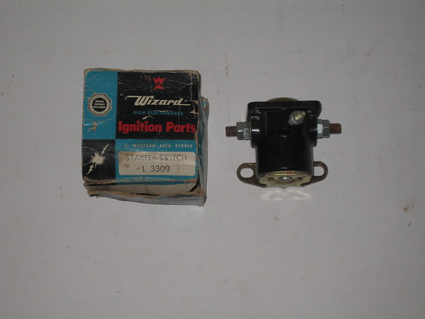 1937 thru 1955 Ford Mercury new starter relay switch # l3309 (zd l3309)