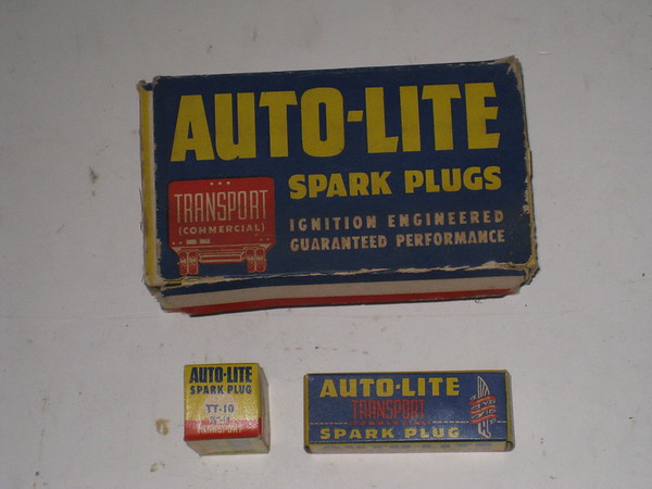 1927 thru 1942 Chevrolet Ford truck chris craft gray marine NOS spark plugs # TT10