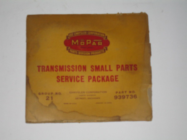 1937 1938 1939 1940 Dodge truck NOS transmission small parts pkG mopar # 939736 (zd 939736)
