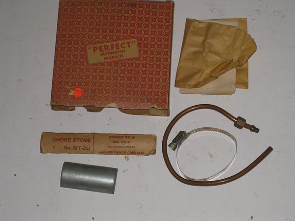 1949 thru 1958 Chevrolet Oldsmobile Ford new exhaust heat choke stove # mt-2u