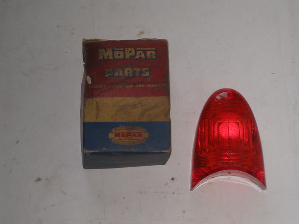 1954 Plymouth NOS tail lamp lens # 1546438 (zd 1546438)