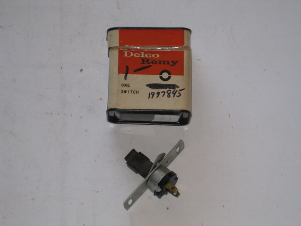 1950 51 52 53 54 chevrolet neutral safety switch vintage new gm part # 1997845