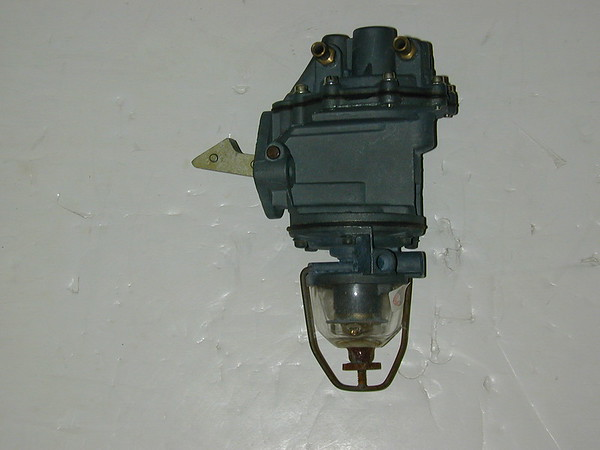 1952 1953 Ford car truck 6 cylinder new rebuilt AC dual action fuel pump # 4133 (zd 4133rb)