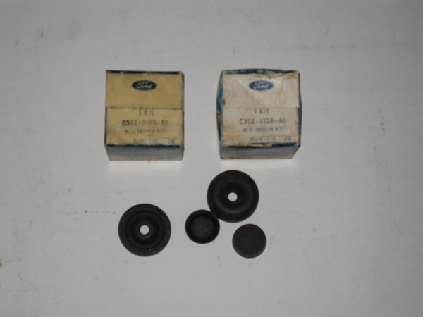 1959 thru 1972 Ford Lincoln Mercury NOS rear brake wheel cylinder kits # c3oz-2128-a1 (zd c3oz-2128-a1)