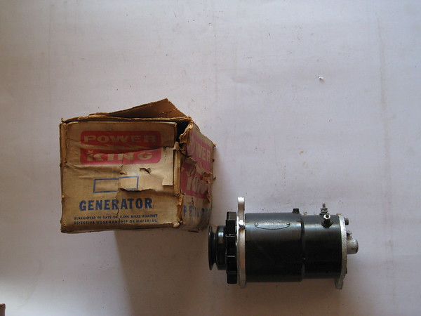 1953 1954 Chevrolet car & truck new rebuilt original delco remy generator with pulley # 1100018