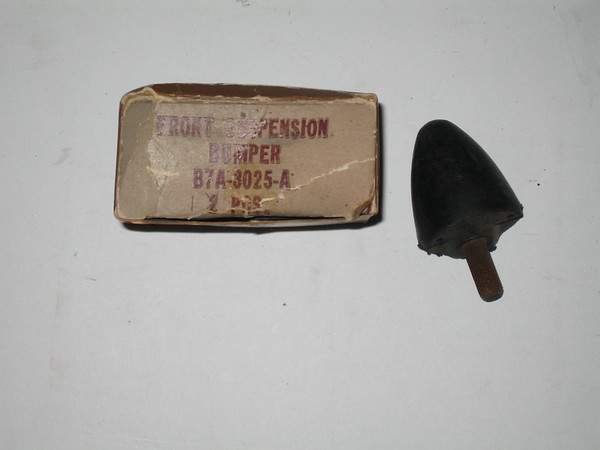 1957 Ford NOS front suspension bumper # b7a-3025-a (zd b7a-3025-a)