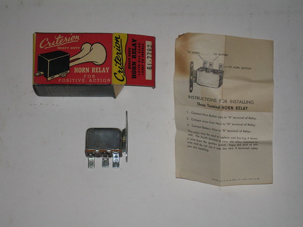 New Criterion 12 volt universal horn relay # 61-7782 for any car truck marine application (zd 61-7782)