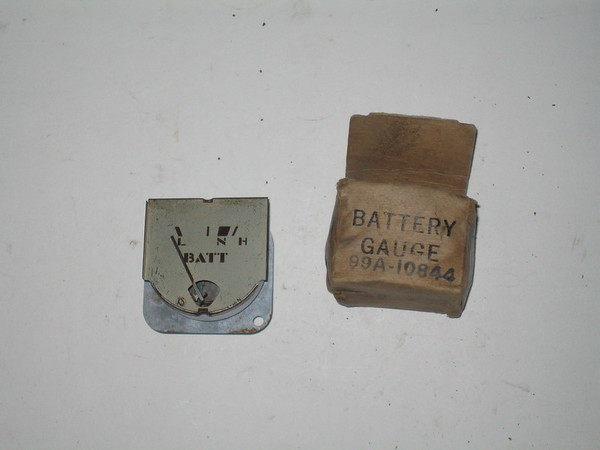 1939 Mercury NOS amp battery gauge Ford part # 99a-10844 (zd 99a-10844)