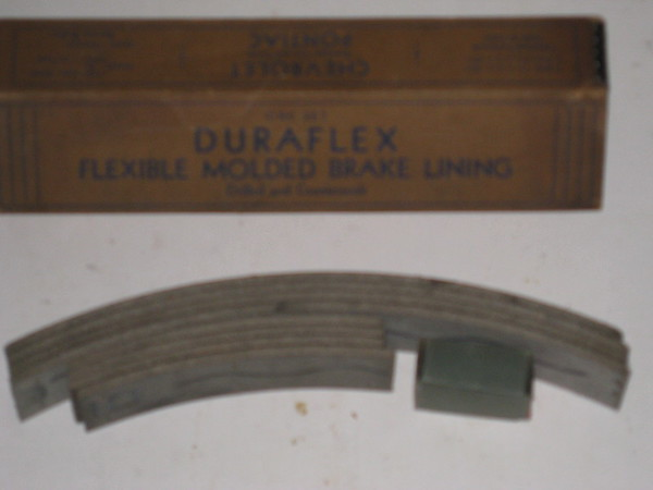 1933 Chevrolet car & truck Pontiac 8 new brake shoe lining set # bl20