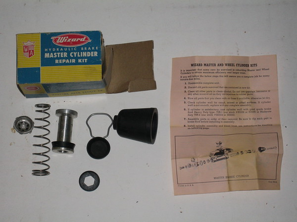 1939 thru 1956 Ford Lincoln Mercury new brake master cylinder repair kit # s5750 (zd s5750)