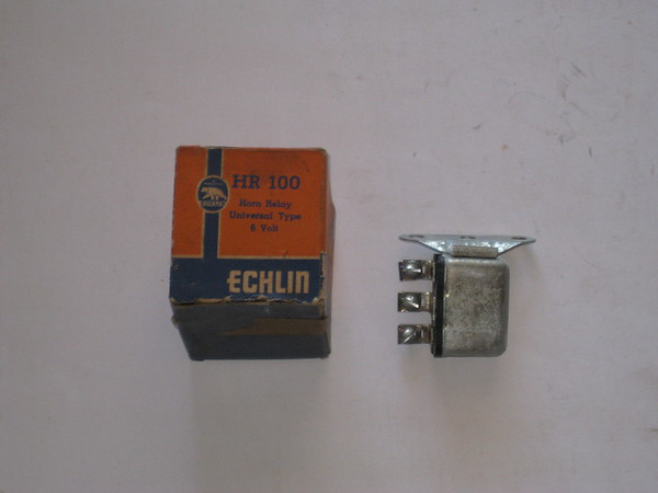 1940 thru 1963 Cadillac Chevrolet Buick Oldsmobile Willys new horn relay (zd hr100)